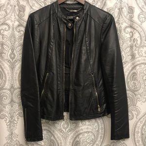 Express Black Moto Jacket